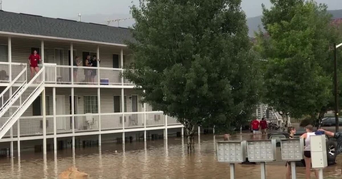 Utahns will have to pay for flood cleanup, insurance won't cover it