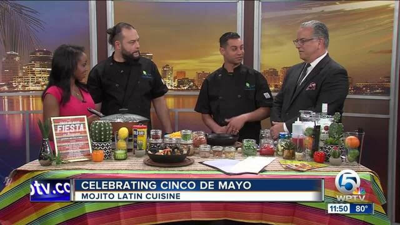 Cinco de Mayo with Mojito Latin Cuisine