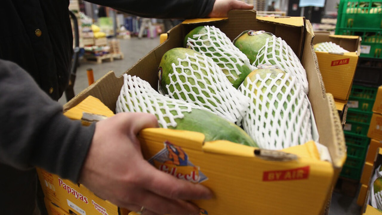 Deadly salmonella outbreak traced to papayas; FDA issues recall