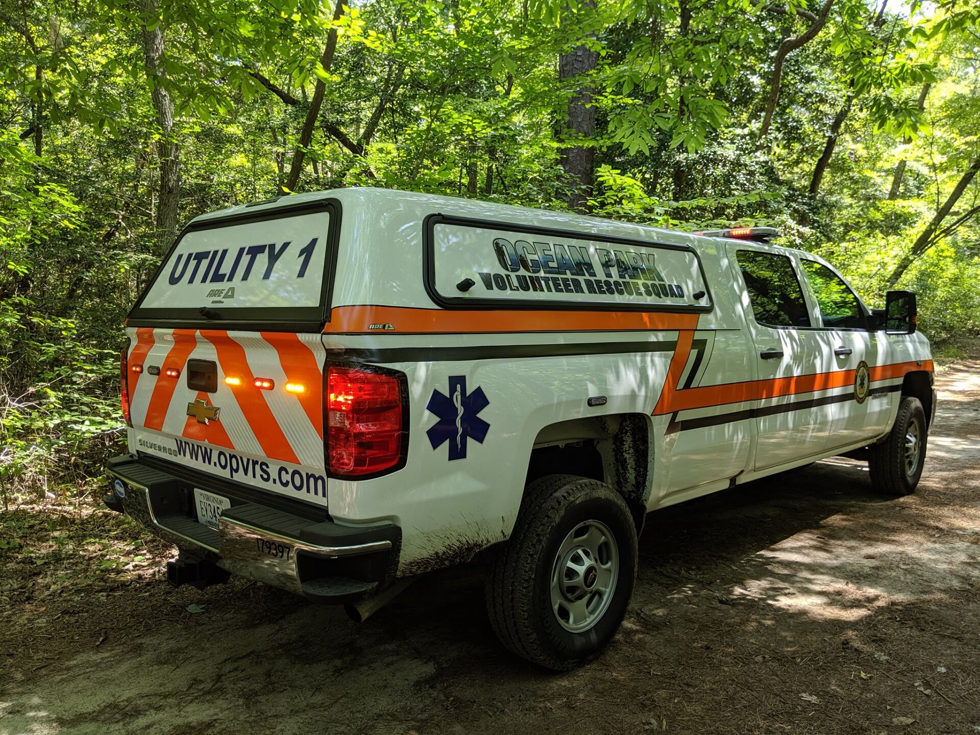 Photos: Multiple agencies help rescue person at First Landing StatePark