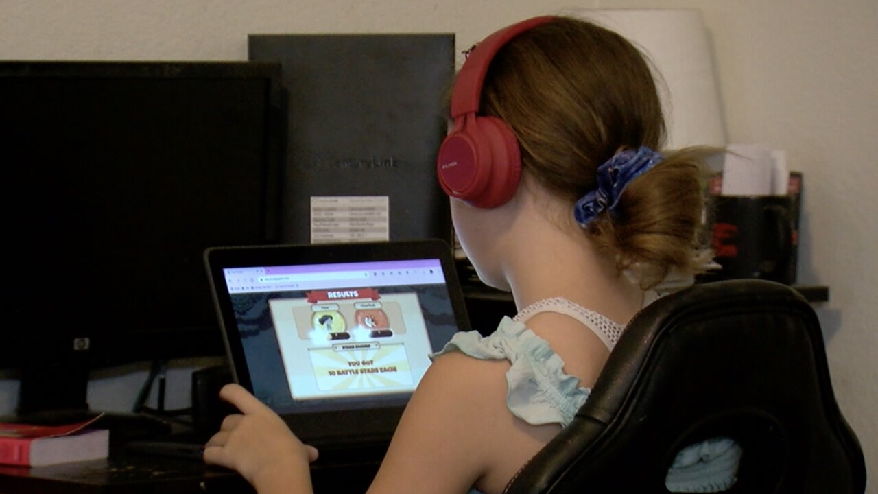 Online distance learning, school, education