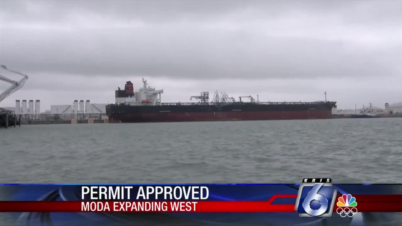Moda Midstream has received expansion approval