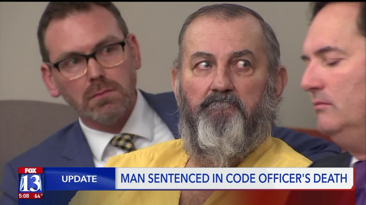Man who killed West Valley City code officer will spend the rest of his life inprison