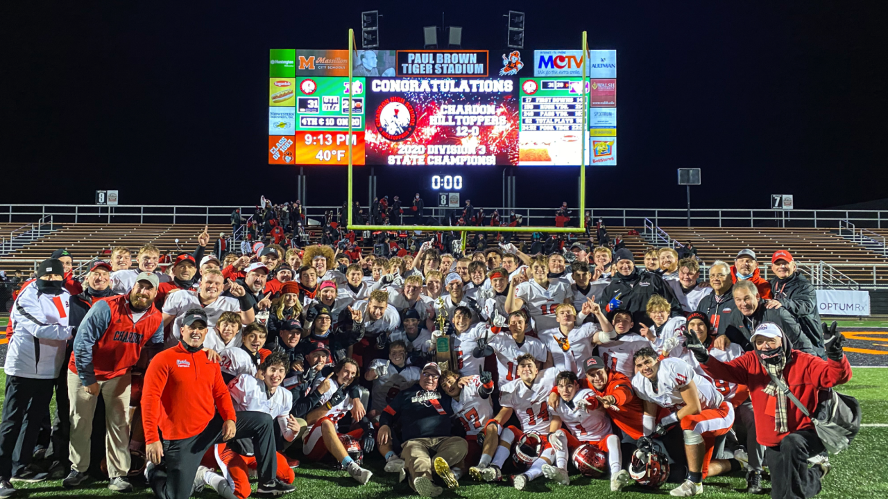 Chardon Hilltoppers state title