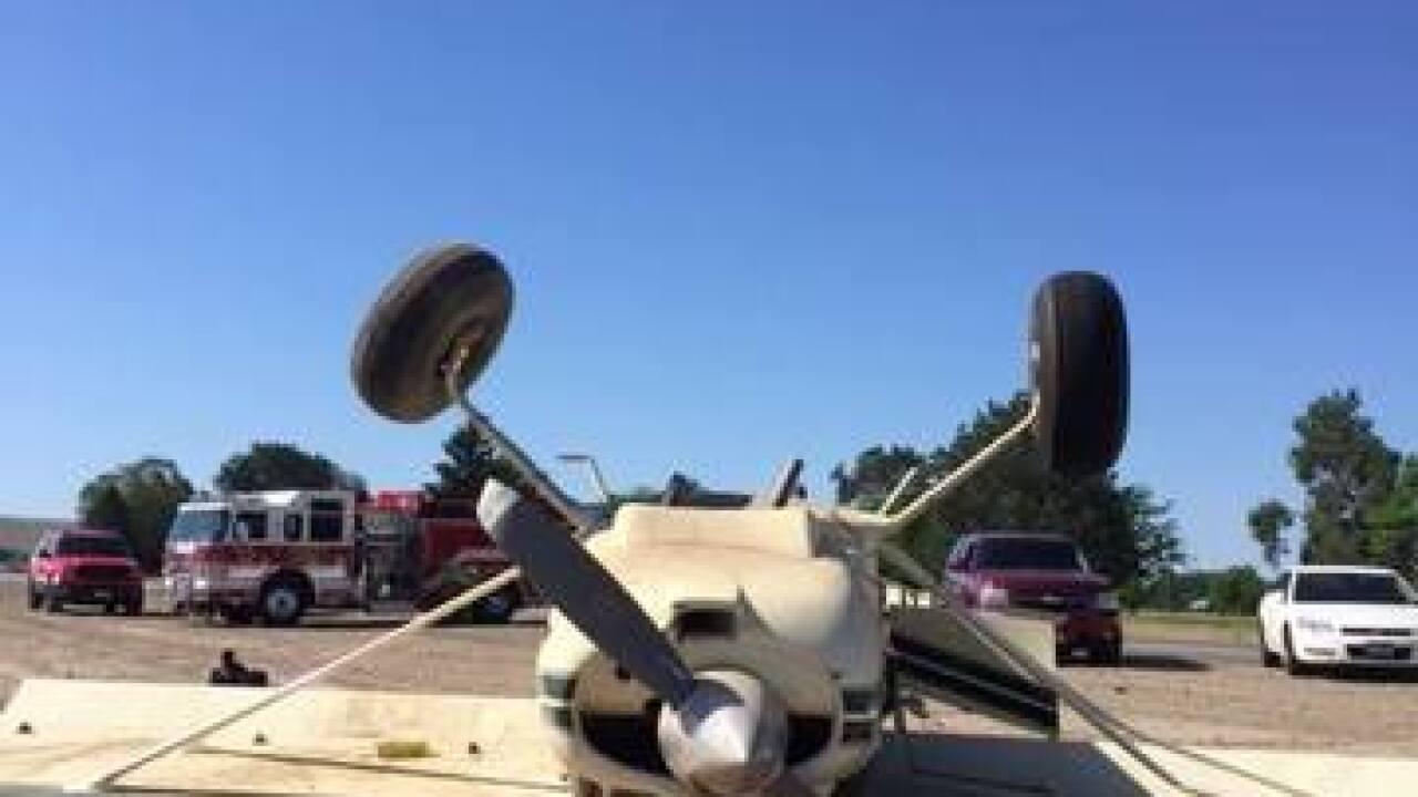 Plane crash at Payette airport