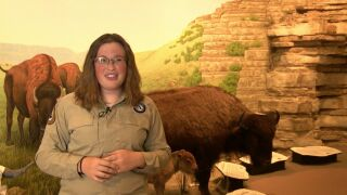 KYLEE MEYER, FIRST PEOPLES BUFFALO JUMP STATE PARK