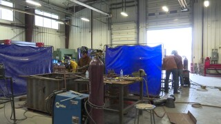 Helena College hosted a welding rodeo for high school students