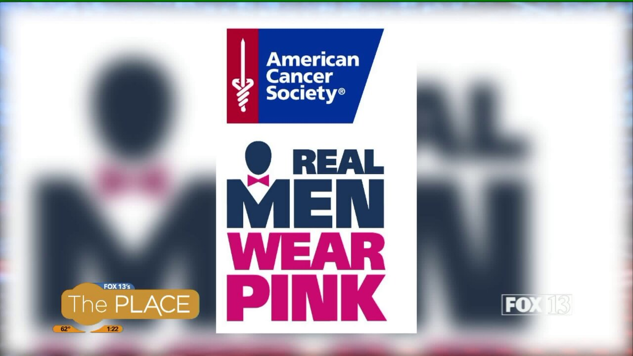 Real men will be wearing pink at the Making Strides Against Breast Cancer Walk