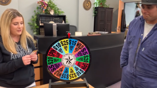 Reduced ticket fines for those willing to answer trivia and spin wheel