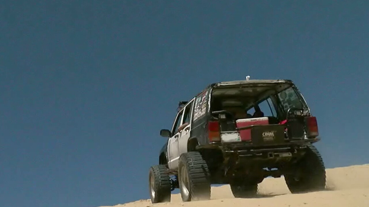 'Mad Max' wannabes enjoy dunes near Walden