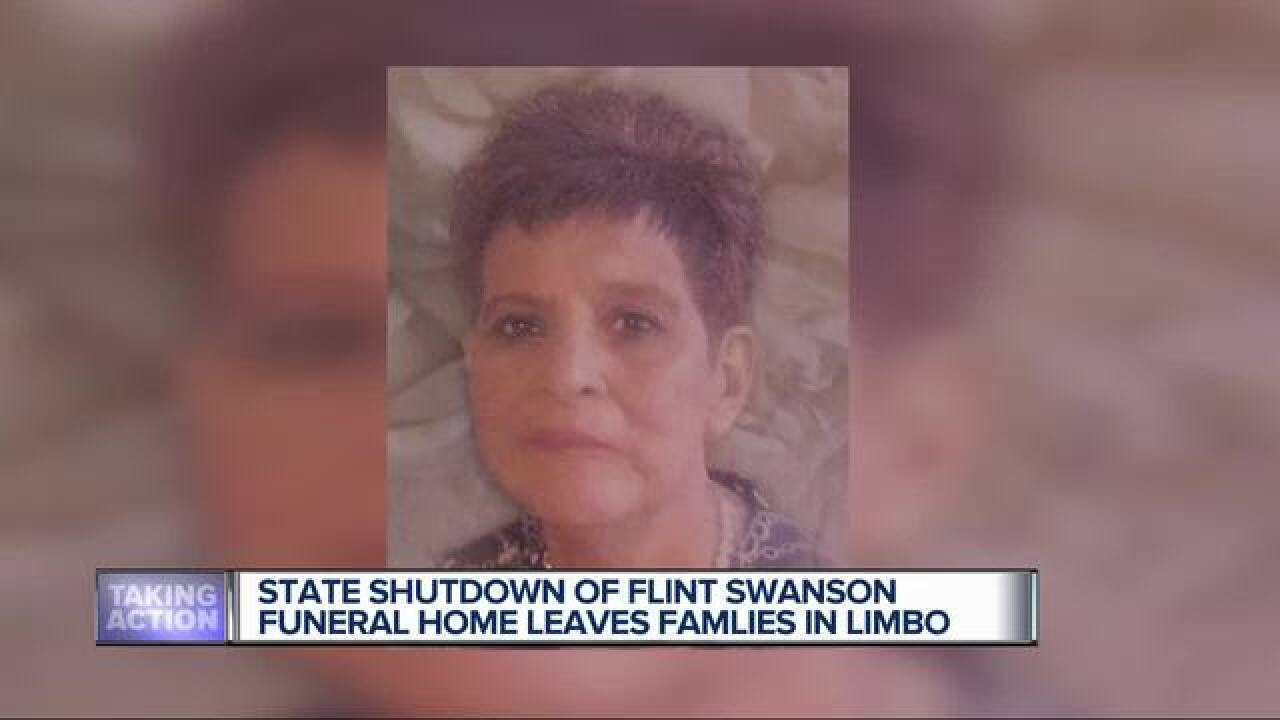 Help for families hurt by funeral home closing