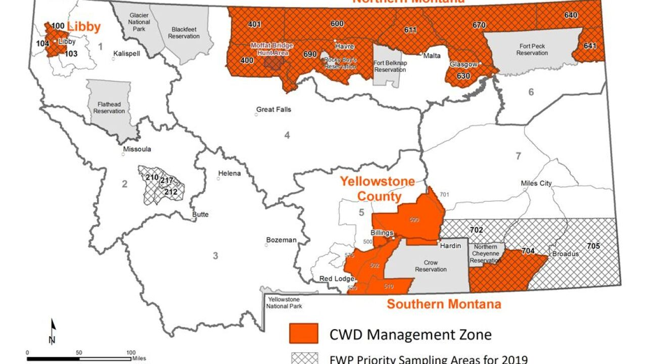Deer harvested in Liberty County tests positive for Chronic Wasting Disease