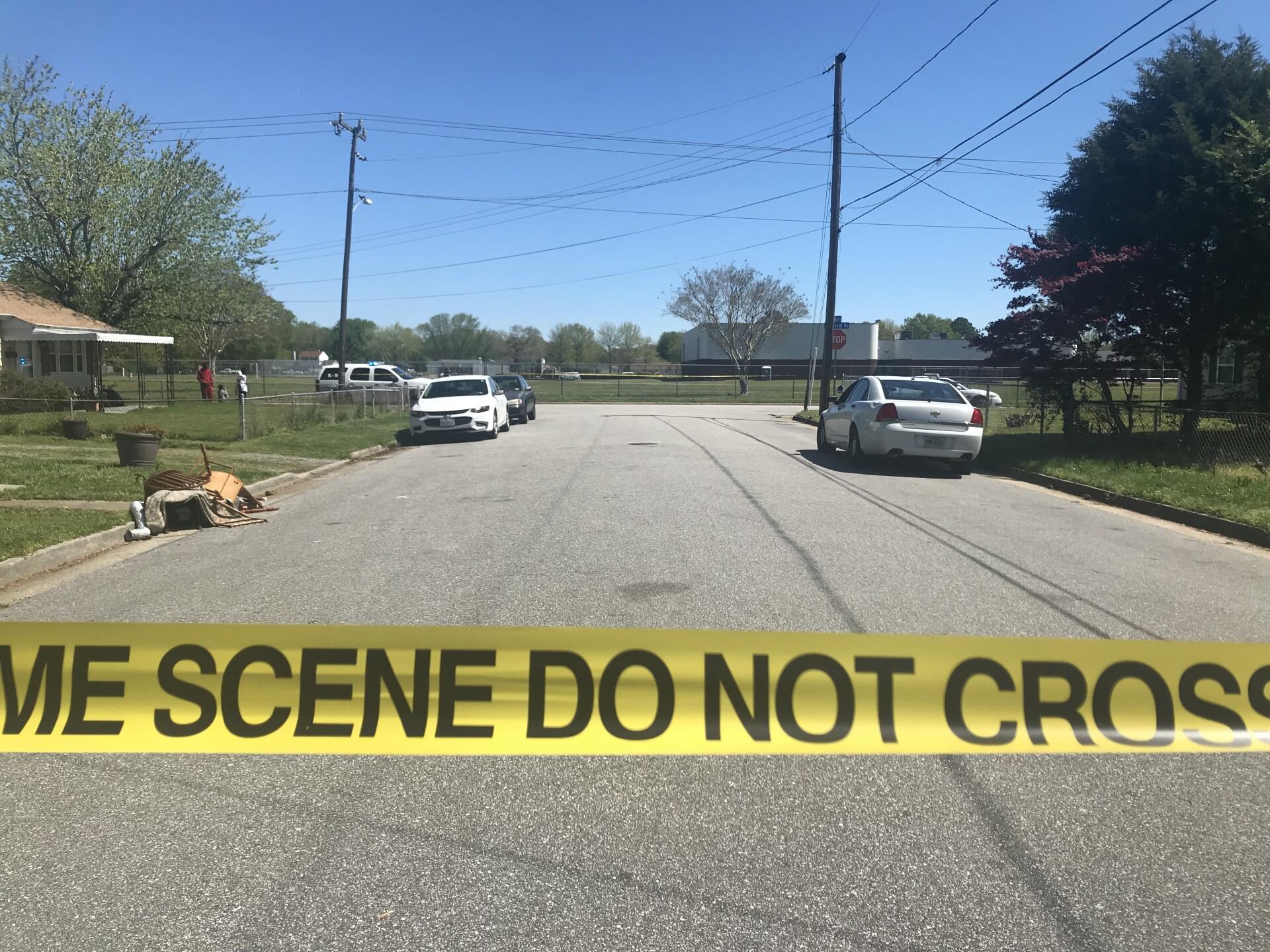 Photos: One man injured in Hamptonshooting
