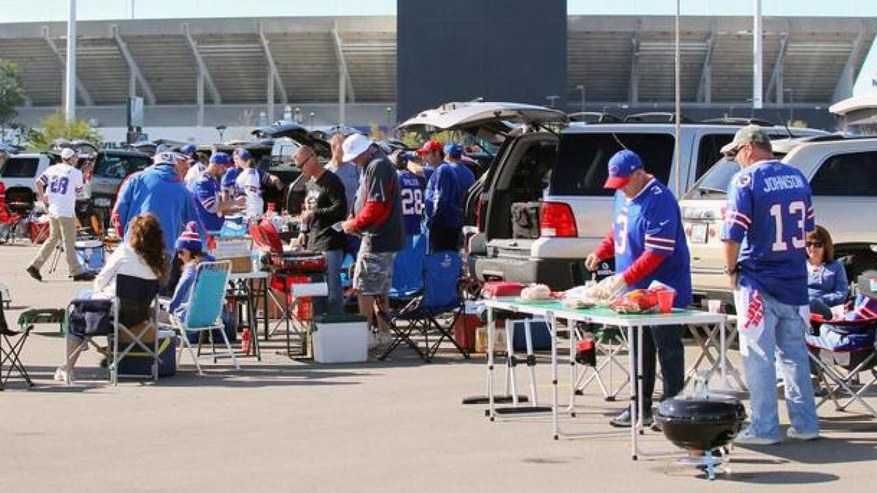Buffalo named best NFL tailgating city