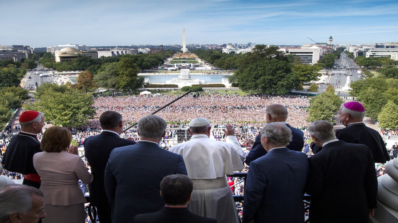 Pope Francis gives historic speech to Congress