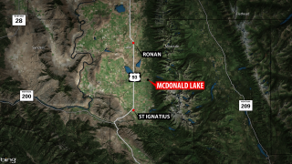 Man hospitalized after falling through the ice in Lake County