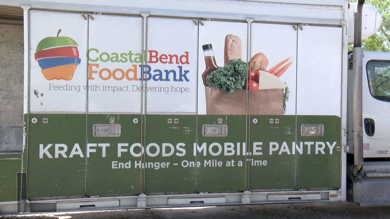 Food distribution heald in rural areas of the Coastal Bend