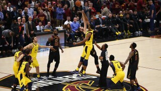 Pacers fall to the Cavs with a 3-point at the buzzer by LeBron James