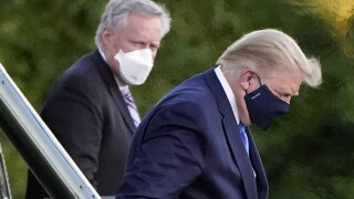 Virus Outbreak Trump