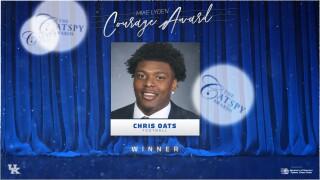 Chris Oats CATSPY Courage Award