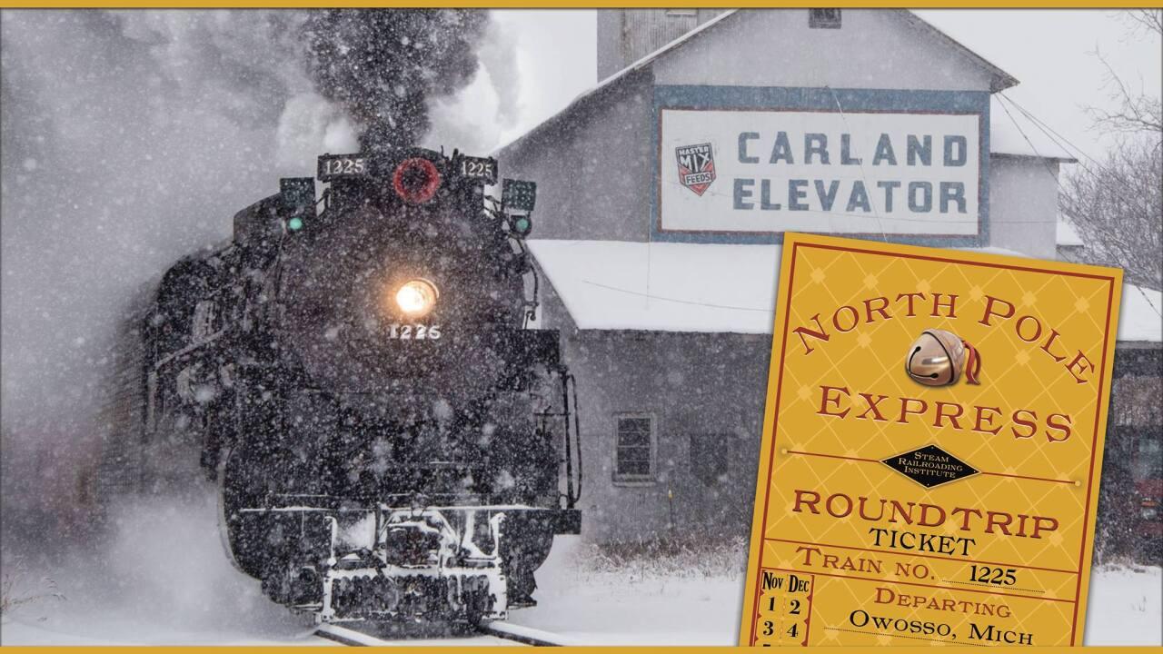 Michigan Steam Train North Pole Express