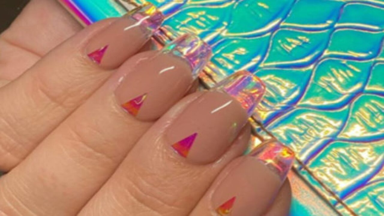Glass Tips Are The Hottest New Nail Trend