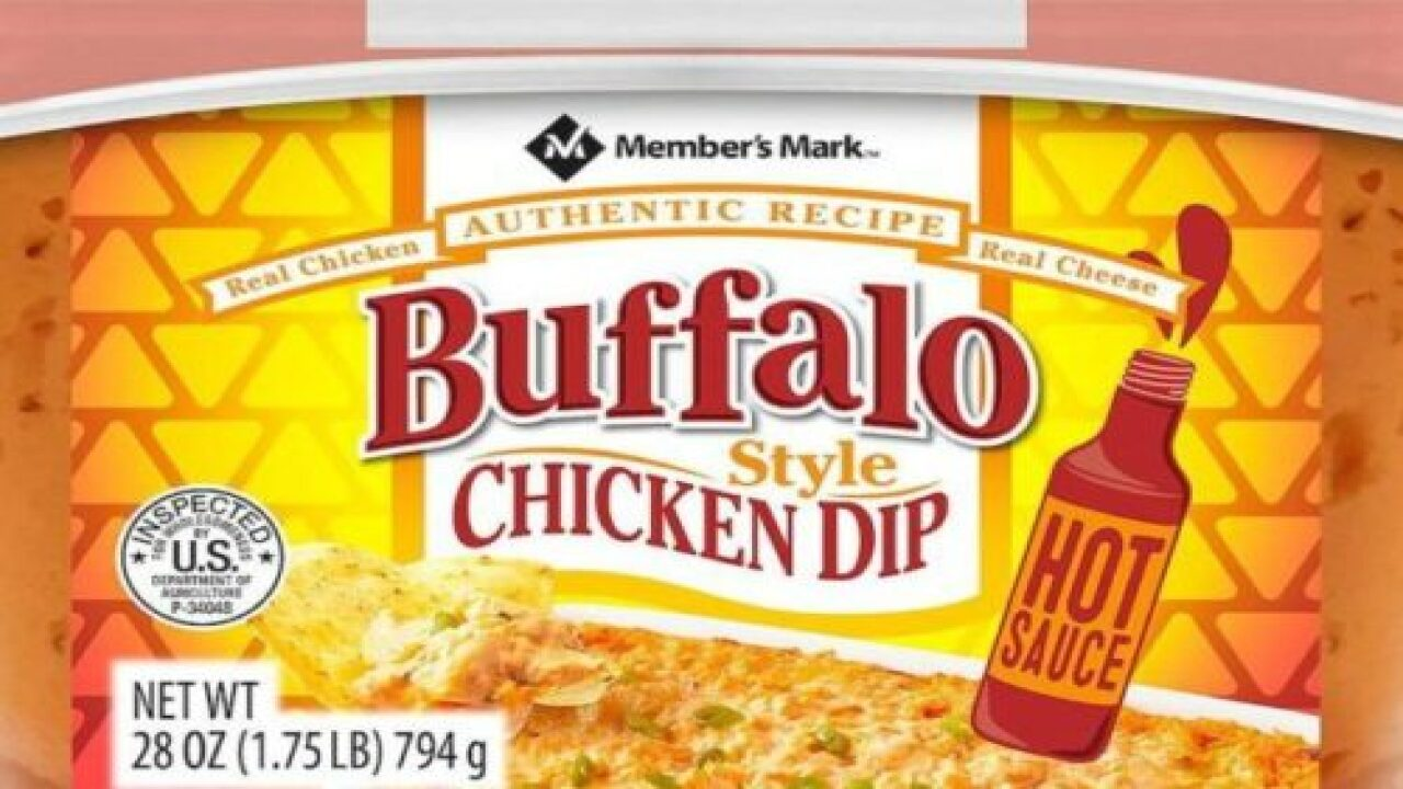 You Can Buy A Huge Tub Of Buffalo Chicken Dip At Sam's Club