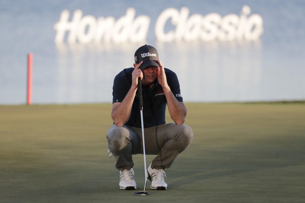 Brendan Steele at Honda Classic in February 2020