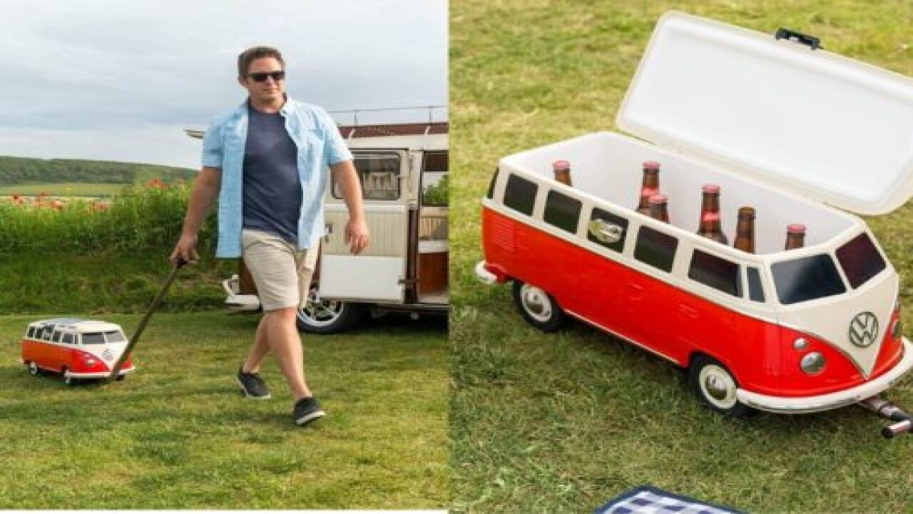 You Can Buy A Rolling Volkswagen Bus Cooler