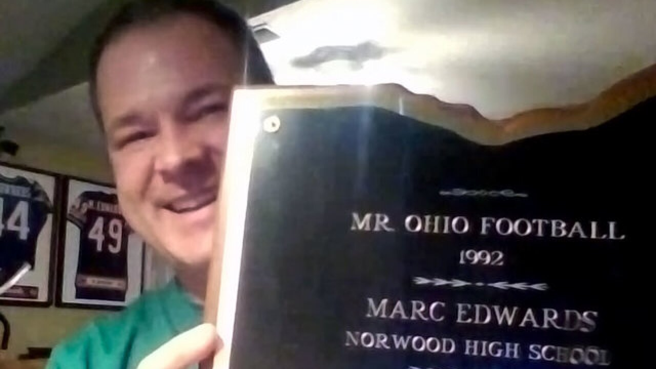 High School Insider: Former NFL fullback Marc Edwards reflects on the Ohio Mr. Football Award