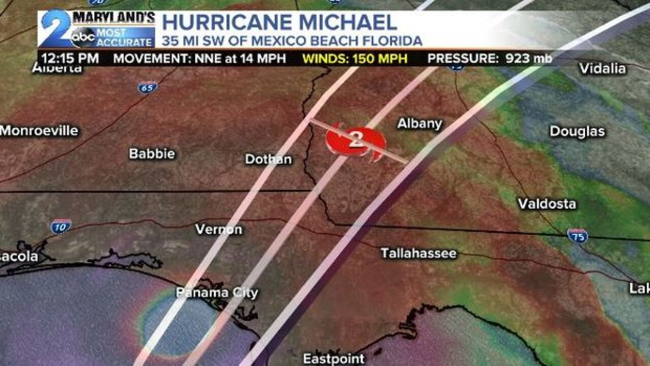 FLORIDA BRACES FOR IMPACT: Michael's Landfall