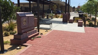 City of Henderson opens Purple Heart Plaza