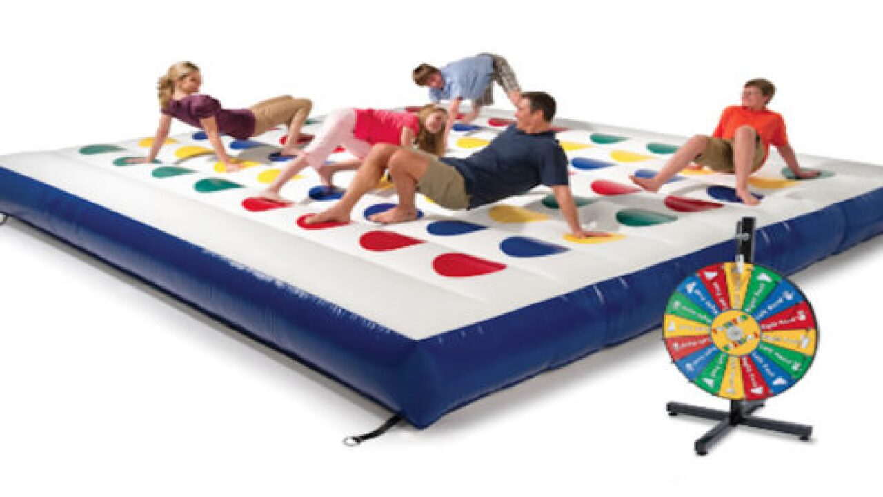 You Can Now Buy A Giant Inflatable Game Of Twister