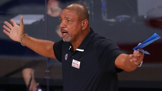 Doc Rivers Clippers Mavericks Basketball