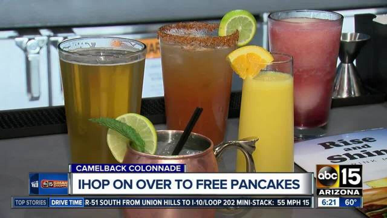 How to score FREE pancakes, burgers and dogs!