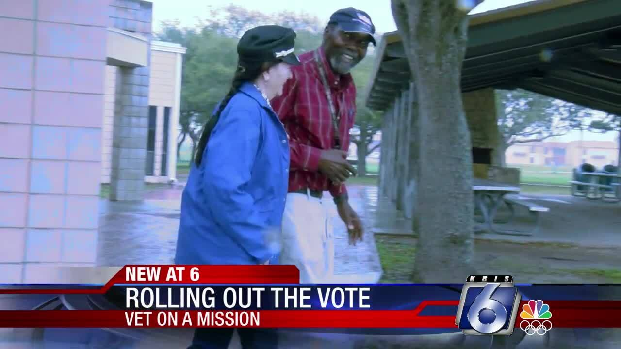 Ron Taylor Smith is determined to get out the vote
