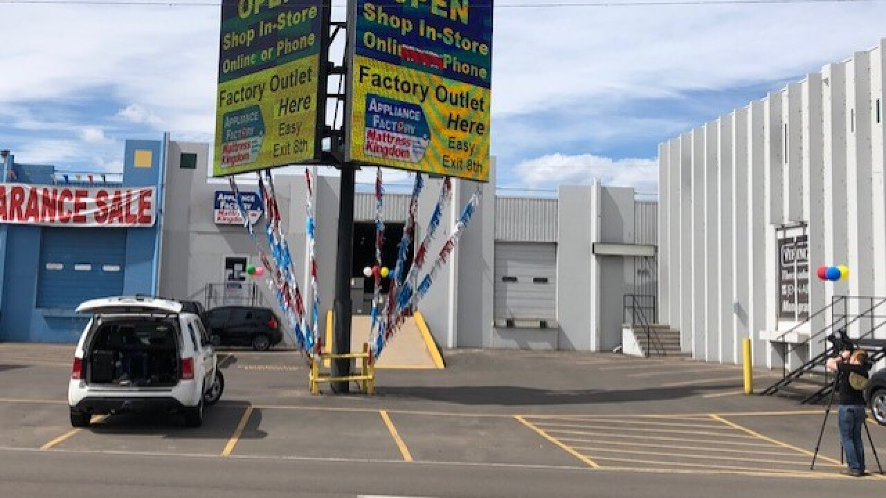 Denver Appliance Store That Was Ordered To Close Remains
