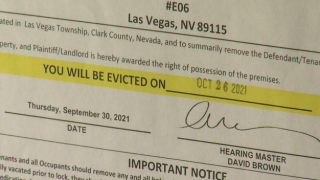 Vegas family evicted for not doing enough when applying for financial aid