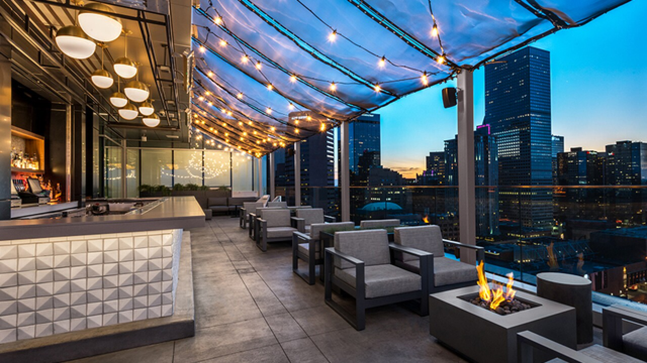 Denver's highest rooftop bar, 54Thirty, now open for the season