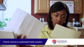 branded spotlight national debt relief
