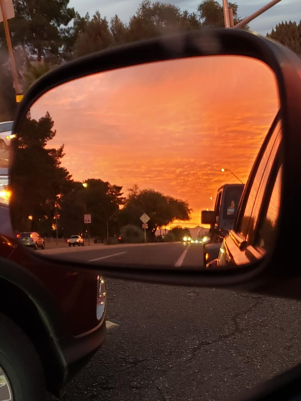 SUNSET on Grant Road by Mark Spear.jpg