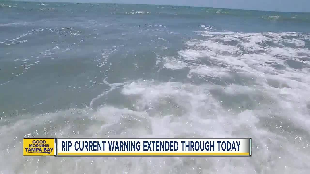 6af15014ef36 Clearwater and Sarasota officials warn of strong rip currents