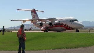 Helena USFS Air Tanker Base sets new records aiding in North Hills Fire efforts