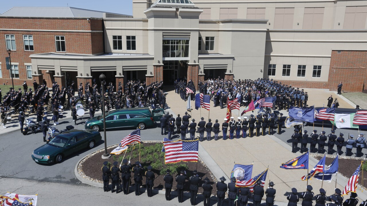 Watch the complete funeral service for Virginia State Police Trooper ChadDermyer