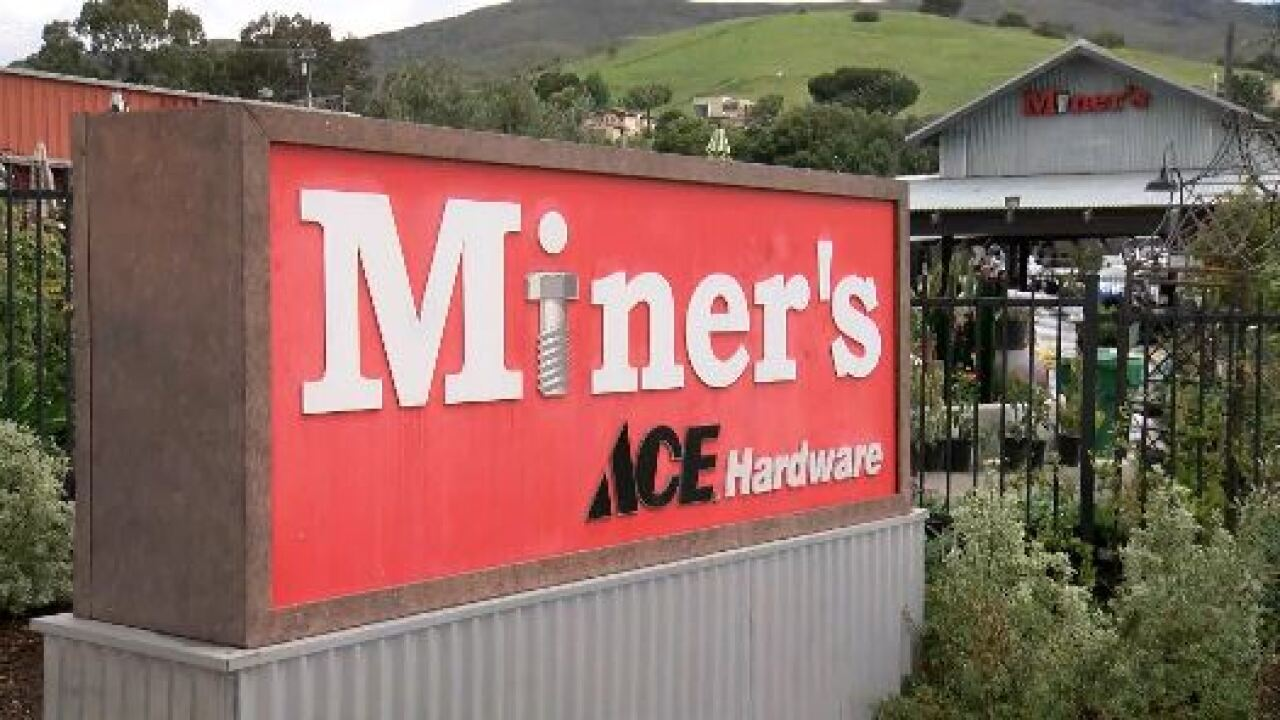 Miner's Ace Hardware stores remain open for community member project needs