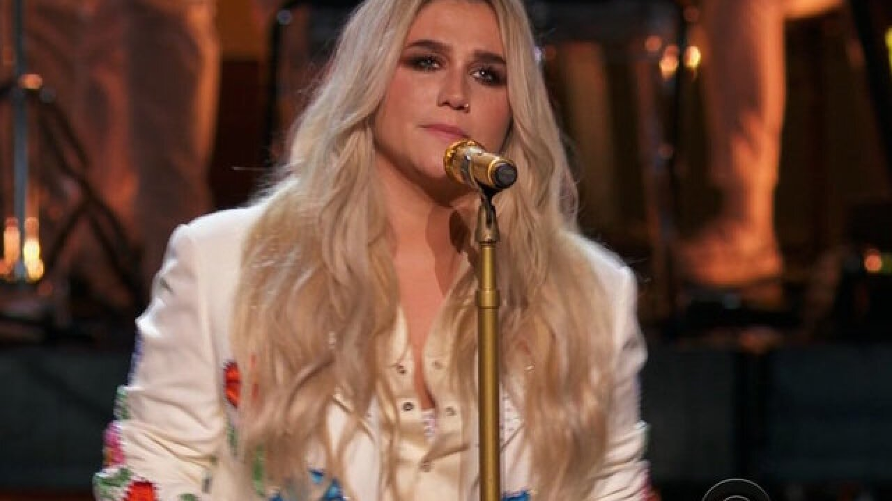 Kesha's 'Praying' is Grammys' Time's Up moment
