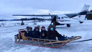 An All-female Medical Team In Rural Alaska Is Delivering Vaccines By Snowmobile And Sled