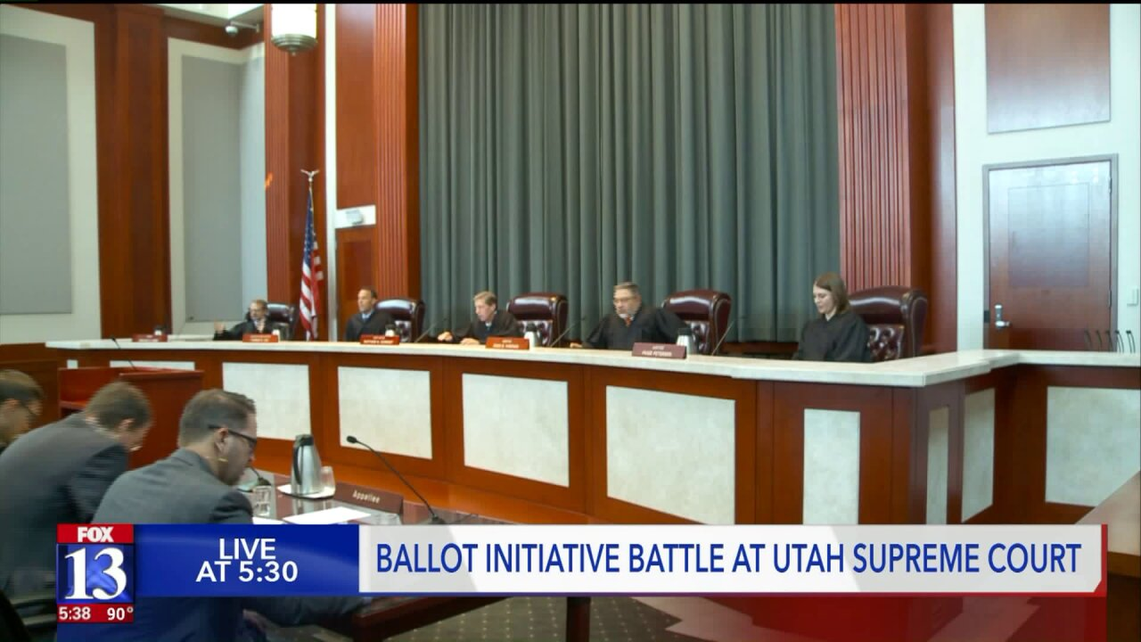 Utah Supreme Court considers if it's too easy to kick citizen initiatives off the ballot
