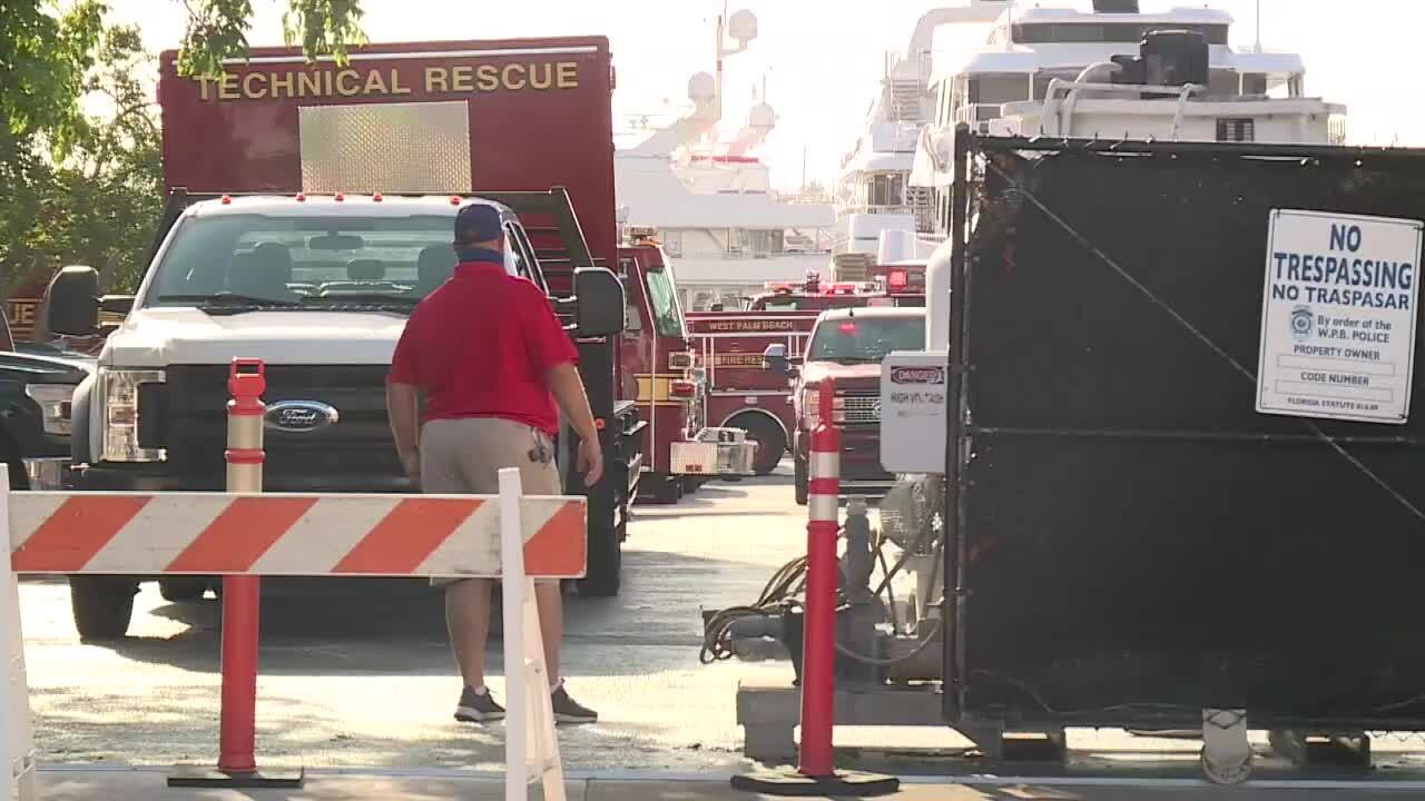 Electrocution at Rybovich marina in West Palm Beach