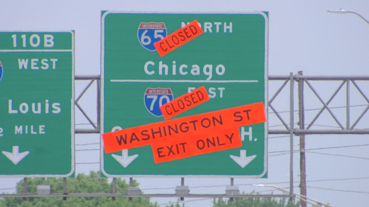 north split closure
